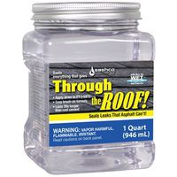Sashco 14003 Through The Roof Roof Sealant