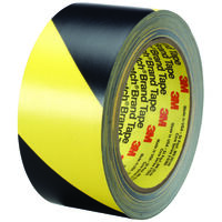 "Saftey Stripe Tape Black & Yellow 2"" x 36 Yd"