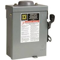 Square D D221NRBCP Fusible General Duty Safety Switch