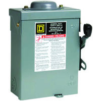 Waterproof Safety Switch, 30 Amp