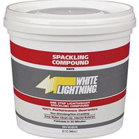 White Lightning 60512 Lightweight Spackling Compound