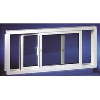 Duo-Corp 3214SLID Double Slider Basement Window, 32 X 14 in, Vinyl