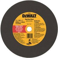 Dewalt DW8004 Type 1 Double Reinforced Chop Saw Wheel