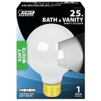 Feit 25G25/W/RP Decorative Incandescent Lamp