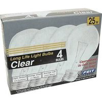 Feit 25A/CL/4-130 Incandescent Lamp