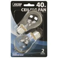 Feit BP40A15/CL/CF Dimmable Incandescent Lamp