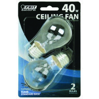 Clear Fan Bulb, 40 Watt A15