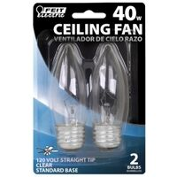 Torpedo Clear Fan Bulb, 40 Watt