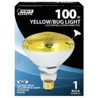 Feit Electric 100PAR/BUG/1 Dimmable Incandescent Lamp, 100 W, 120 V, PAR38, Medium Screw ,
