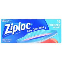BAG FREEZER ZIPLOC 1 QT
