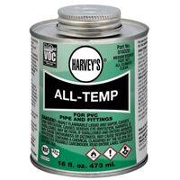 All Weather PVC Cement, 16 oz