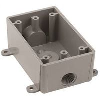 Thomas & Betts E381DR Type T Weatherproof Switch Box