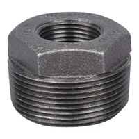 World Wide Sourcing B241 40X20 Black Pipe Fittings