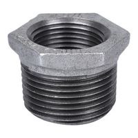 World Wide Sourcing 35-3/4X3/8G Galvanized Hex Bushing