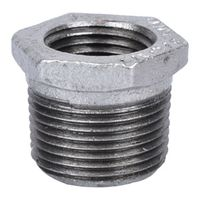 Worldwide Sourcing 35-3/4X1/2G Galvanized Pipe Hex Bushing