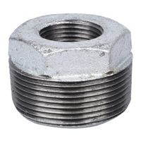 World Wide Sourcing PPG241-40X15 Galvanized Hex Bushing