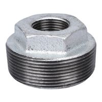World Wide Sourcing 35-2X3/4G Galv. Pipe Fitting