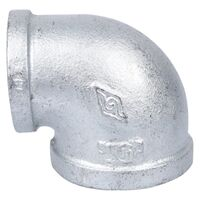 "2 x 1 1/2 "" Galvanized 90 Degree Elbow"