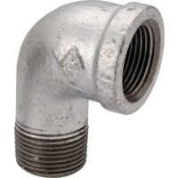 "Galvanized Street Elbow, 1/4"" 90 Degree"