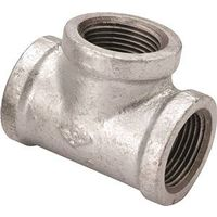 Worldwide Sourcing 11A-1G Galvanized Pipe Tee