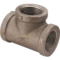 World Wide Sourcing B130R 25X20X15 Black Pipe Fitting