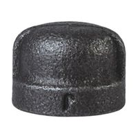 World Wide Sourcing B300 8 Black Pipe Malleable Cap