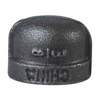 World Wide Sourcing B300 10 Black Pipe Malleable Cap