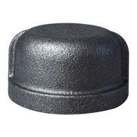 World Wide Sourcing B300 40 Black Pipe Malleable Cap
