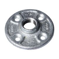 Galvanized Floor Flange, 1/2""