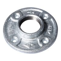 Galvanized Floor Flange, 1 1/4""