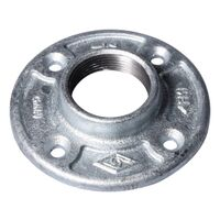 Galvanized Floor Flange, 1 1/2""