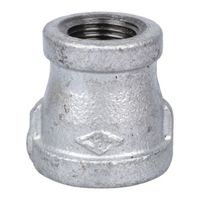 Worldwide Sourcing 24-1/2X3/8G Galvanized Pipe Reducing Coupling