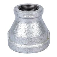 "Galvanized Coupling, 1 1/4"" x 3/4"""