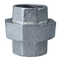 Galvanized Malleable Union, 1 1/2""