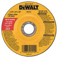 Dewalt DW4514 Type 27 Depressed Center Grinding Wheel