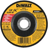 Metal Abrasive Wheel, 4 1/2""