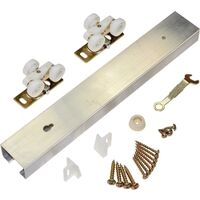 Pocket Door Track Kit, 72&quot;