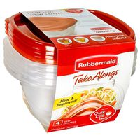 TakeAlongs 7F54 Deep Square Food Storage Container