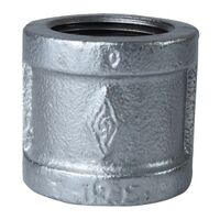 Galvanized Coupling, 1/2""