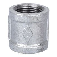 Worldwide Sourcing 21-3/4G Galvanized Pipe Malleable Coupling
