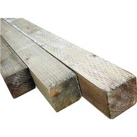 American Wood POST4X4 Treated Wood Post