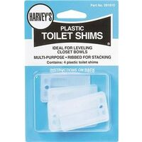 Plastic Toilet Shims