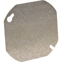 Hubbell 722 Octagon Flat Blank Electrical Box Cover