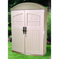"Lifescape Highboy Storage Shed, 71 3/4"" x 52"" x 27"""