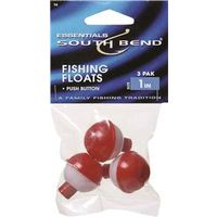 FLOAT FISHING RED/WHITE 1 INCH