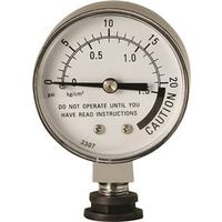 National Presto 85729 Pressure Canner Steam Gauge With Rubber Adapter