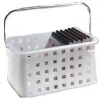 Medium Basket, Clear