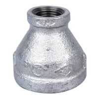 "1 1/4"" x 1/2"" Galvanized Reduce Coupling"