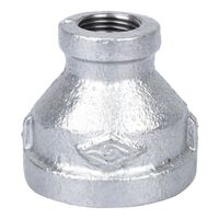 "1"" x 3/8"" Galvanized Reduce Coupling"