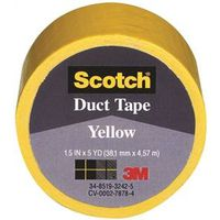 Scotch 1005-YLW-IP Colored Duct Tape